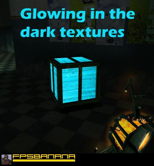 Glowing Textures (in the dark)