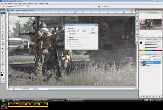 Zoom and defocus in photoshop gamebanana tutorials zoom and defocus in photoshop ccuart Image collections
