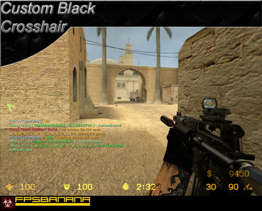 Making a Custom Black Crosshair