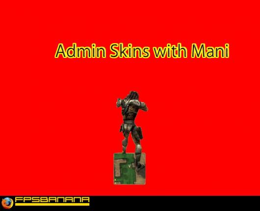 Adding Admin Skins