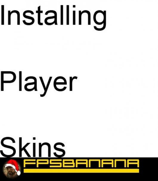 How to install player skins