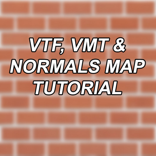 Creating VTF, VMT and Normals textures