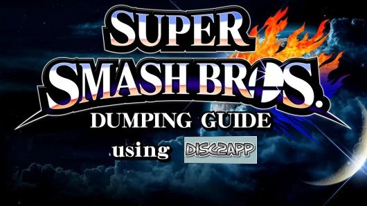 How to Dump Sm4sh Wii U Using disc2app