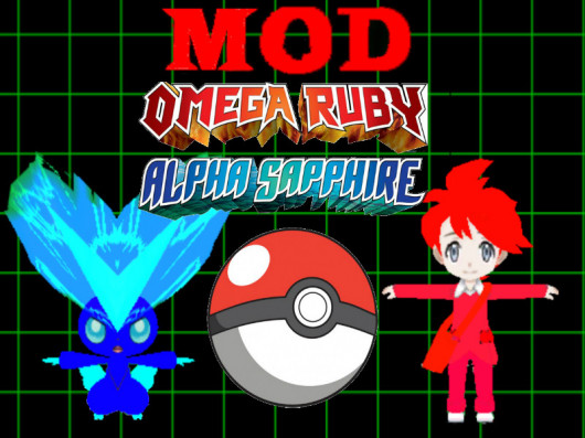 How to mod Pokemon Omega Ruby and Alpha Sapphire