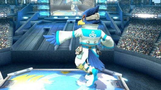Cloud 9 Falco w/symbol on his back