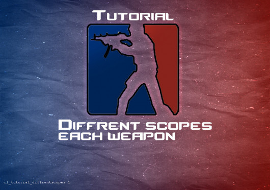 How to set diffrent scope each weapon