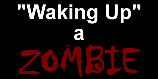 """Waking Up"" a ZOMBIE"