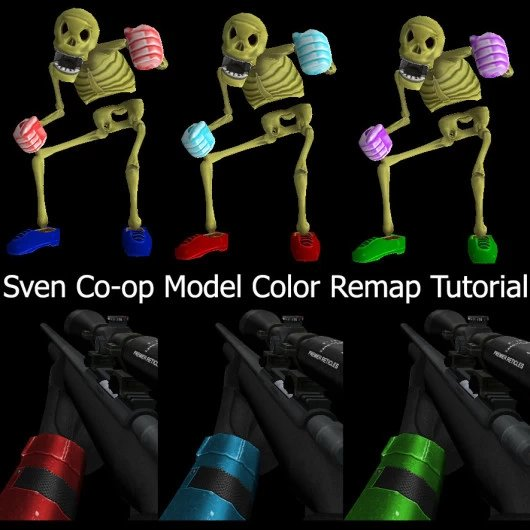 Sven Model Color Remap Tutorial