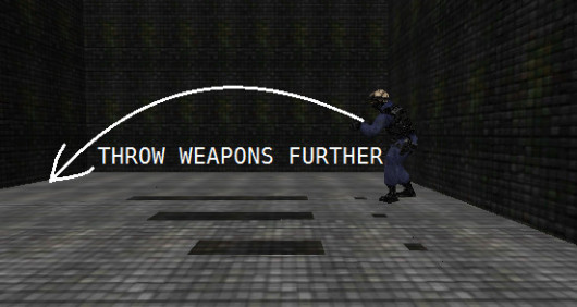 Throw Weapons Further
