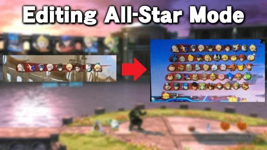 Editing All-Star Mode
