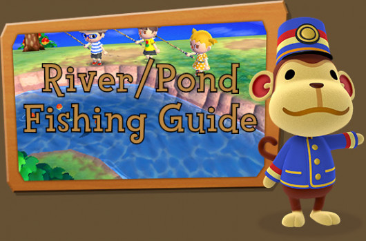 Riverpond Fishing Guide Animal Crossing New Leaf Tutorials
