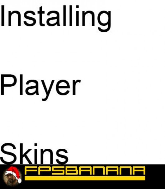 How to install player skins Tutorial screenshot #1