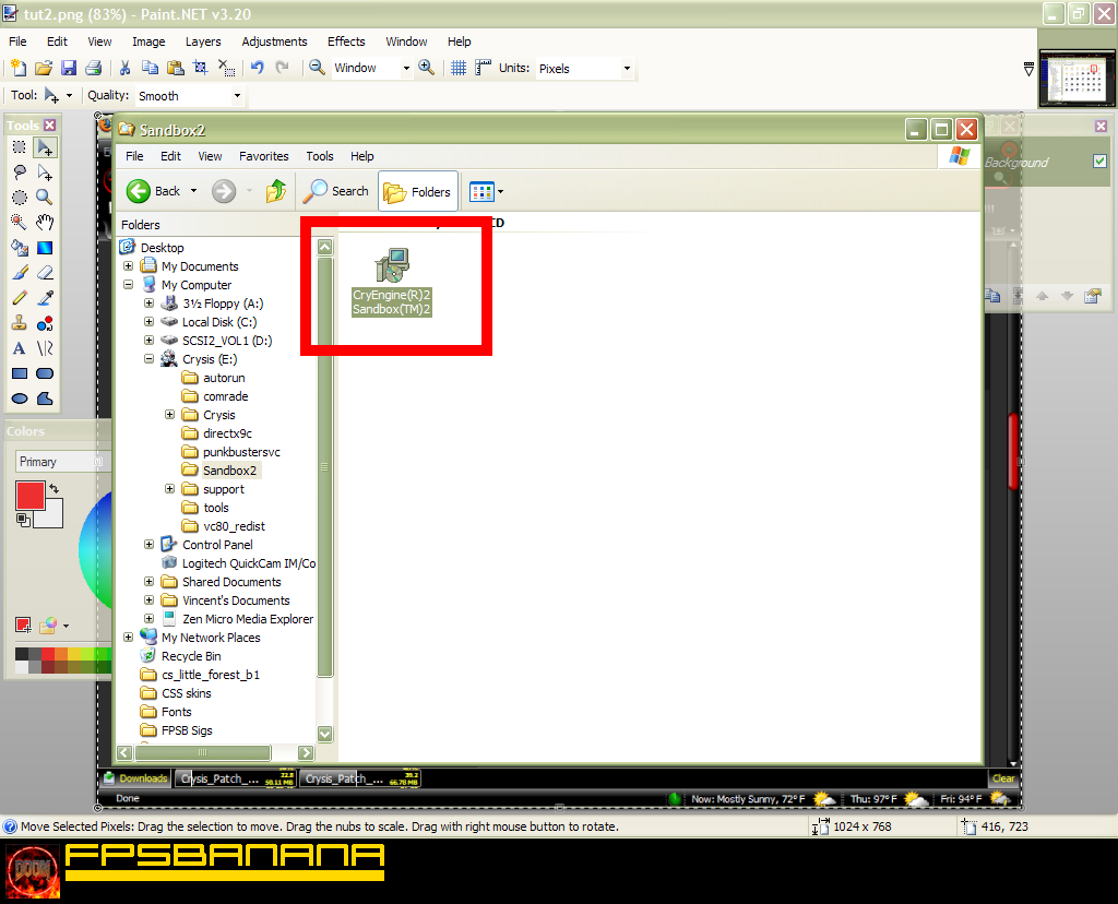 how to install the sandbox editor crysis tutorials