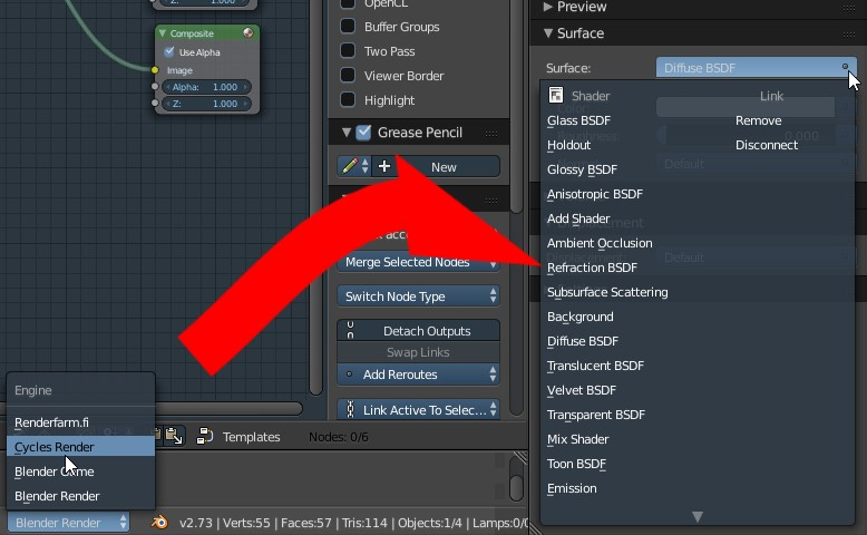 how to get out of select mode in blender