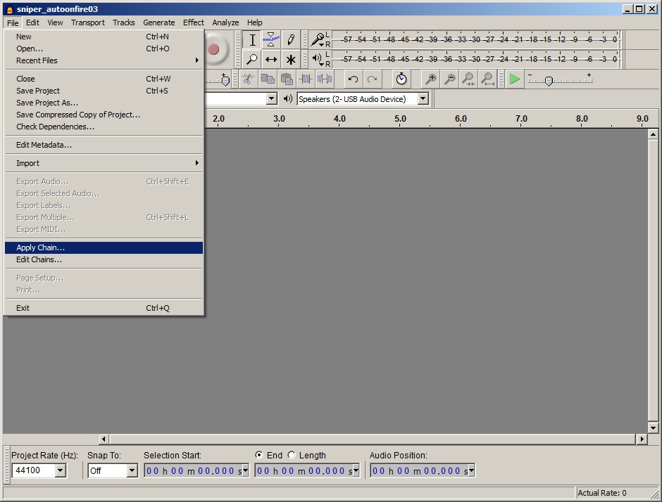 how to fix recording in audacity