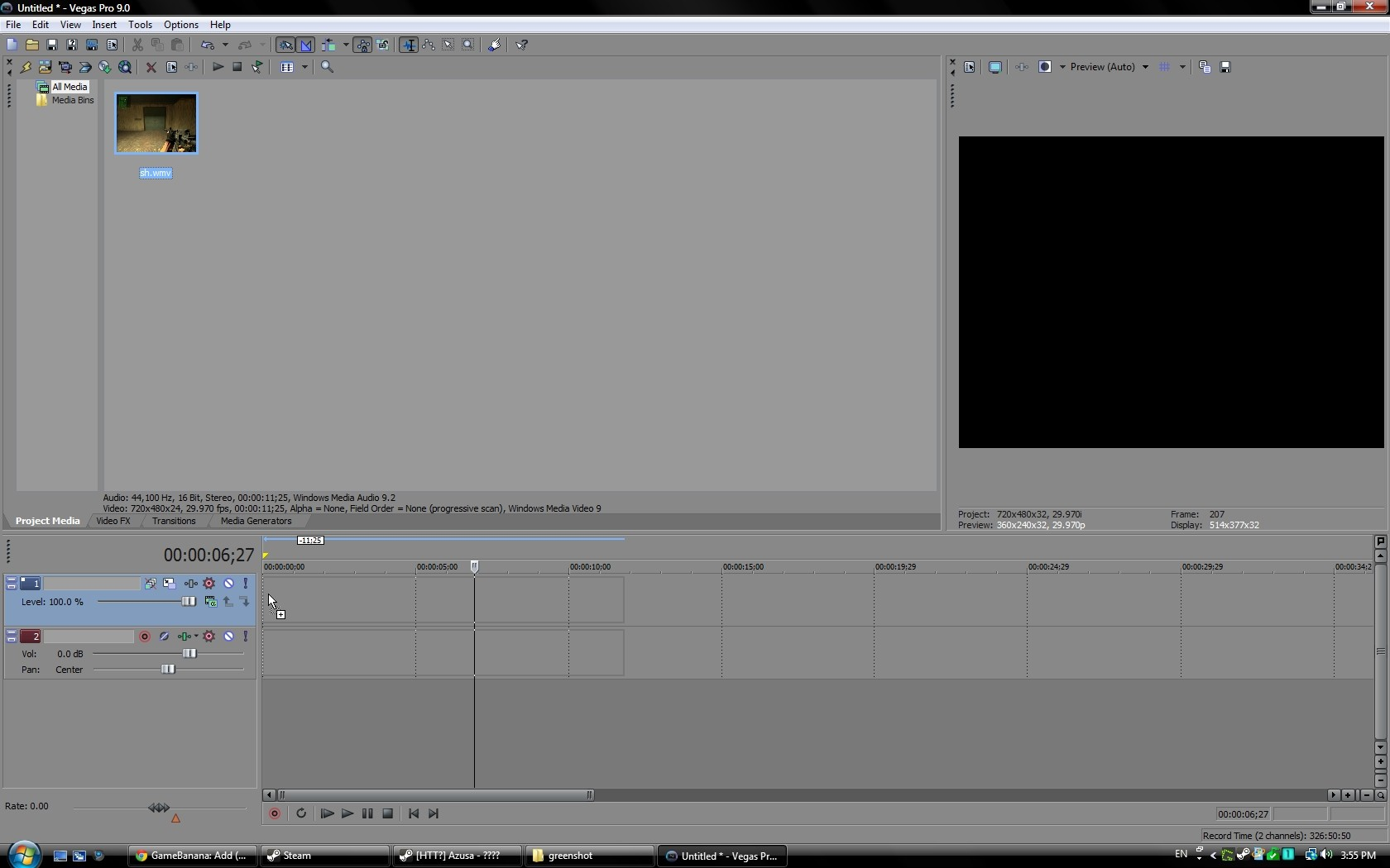 how to add effects in sony vegas