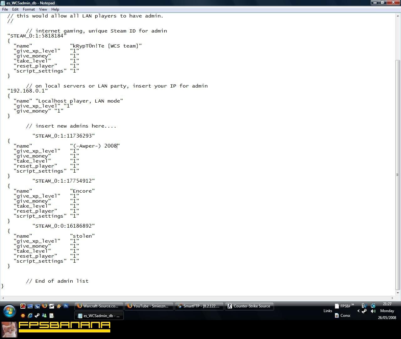 Мониторинг wcs серверов для css новые пвп сервера god