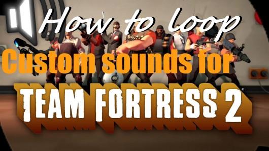 How to loop a custom sound