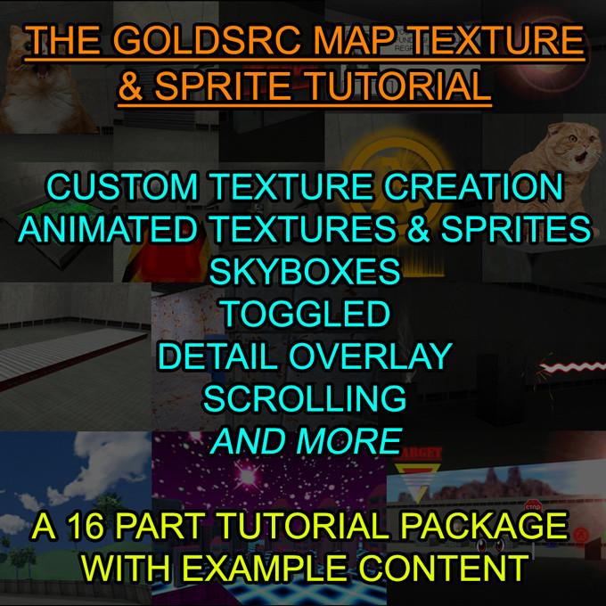 Goldsrc Custom Map Texture Sprite Tutorial