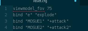 [Scripting] Reset.cfg and you