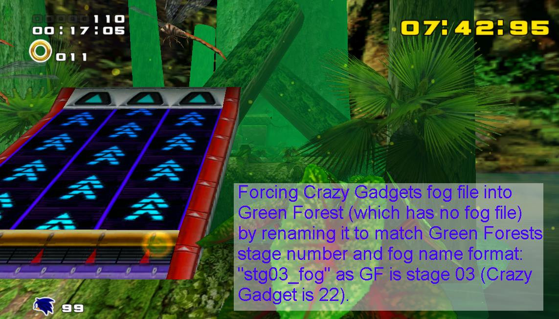 Roblox No Fog Script Fog Editing Sonic Adventure 2 Tutorials
