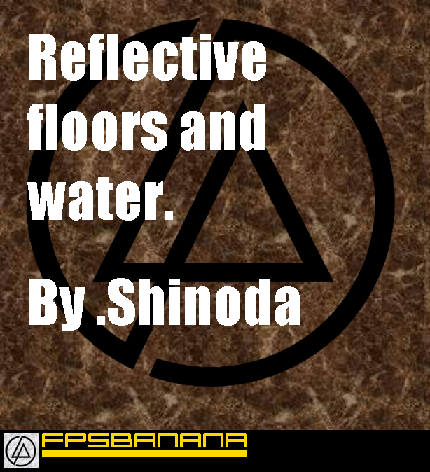 A way to make a reflective floor