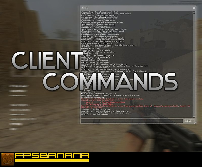 Client Commands Tutorial screenshot