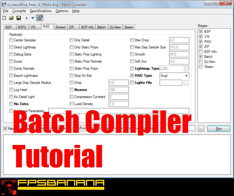 Batch Compiler Tutorial