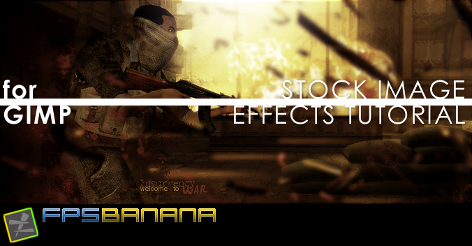 Stock Image Effects Tutorial [GIMP]