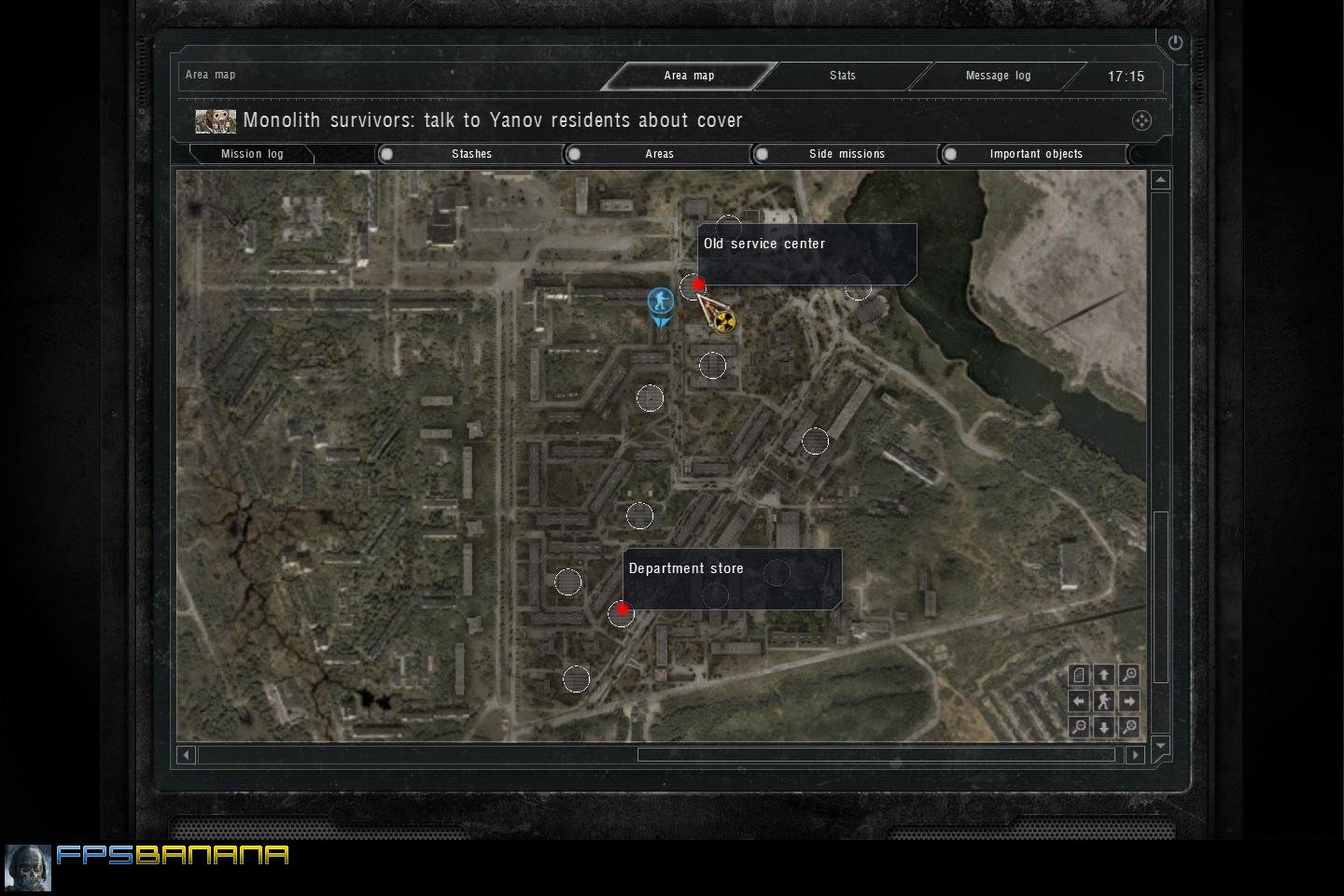 Where to find instruments for calibration: Call of Pripyat