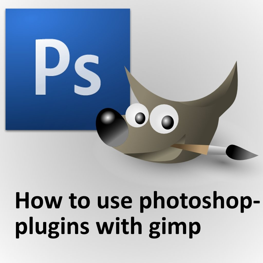 How to use photoshop-plugins with GIMP Tutorial screenshot #1