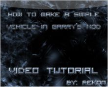 Easy Vehicle in GMOD Tutorial preview