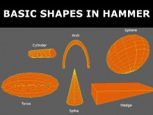 Basic shapes in Hammer Tutorial preview