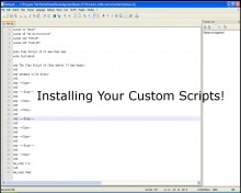Installing Your Custom Scripts Tutorial preview