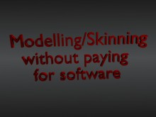 A Guide to Modeling for Free Tutorial preview
