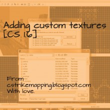 Adding custom textures for cs 1.6 Tutorial preview