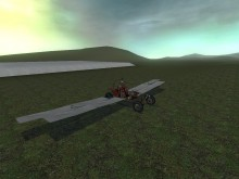 Half buggy, half plane Tutorial preview