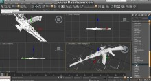 Making a render with 3ds Max preview