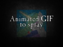 Animated GIF to Spray Tutorial preview