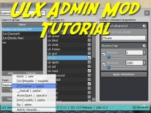 ULX Admin Mod Tutorial preview
