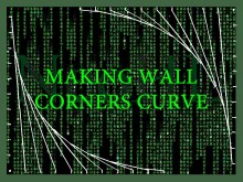 Making wall corners curve (Texture align included) Tutorial preview
