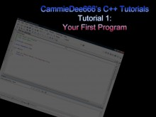 C++: Your First Program Tutorial preview