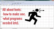 How to make .ttf fonts preview