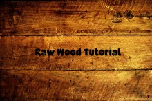 Raw wood Tutorial preview