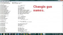 Changing gun names Tutorial preview