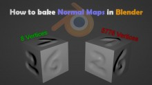 How to bake Normal Maps in Blender Tutorial preview