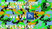 How to make custom textures in MW2 - Tutorial #1 preview