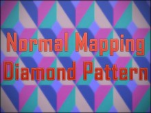 Normal Mapping Diamond Pattern for Photoshop Tutorial preview
