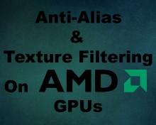 Anti-Alias & Texture Filtering | AMD GPUs Tutorial preview