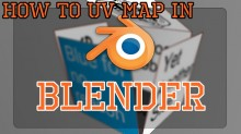 UV mapping in Blender Tutorial preview